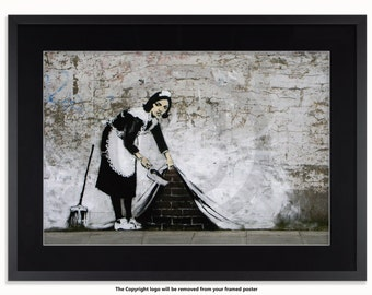 Banksy - The Camden Maid Poster