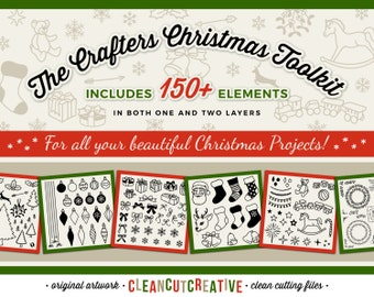 SVG Christmas svg Design Elements SVG Christmas tree svg christmas files svg christmas bundle svg ornaments svg files for Cricut Silhouette