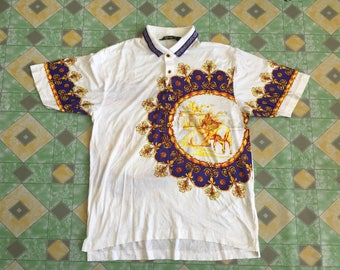 Vintage 90's Matador Balbarick Design Coller Shirt