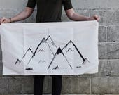 Custom Mountain Wall Mural // RESERVED