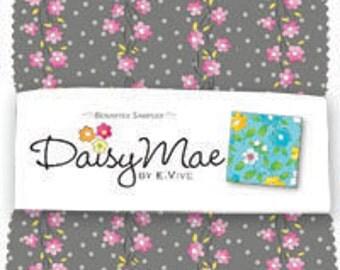 "SALE Daisy Mae by Benartex - (42) 5"" x 5"" Charm Pack"