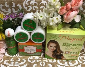 Skin Magical Rejuvenating Facial Set 1 A Must Try BEST SELLER