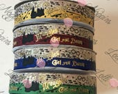 "Don't let Muggles Get You Down HP    USDR 7/8"" ribbon   Coordinated grosgrain set for bows and crafts"