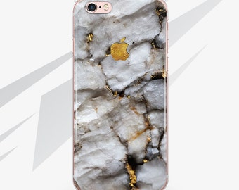 iPhone 7 Case Marble Gold Case iPhone 6 Case iPhone SE Stone Case iPhone 5 Case for Samsung Galaxy S6 Case for Samsung Galaxy S7 RA10062
