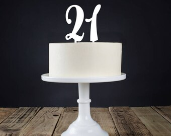 Personalised Age Cake Topper