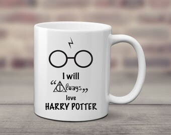 I will always love Harry Potter Gift mug cup Cute Gift - Ceramic - 320ml
