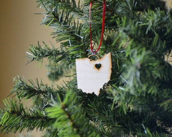 Laser Cut Wood Ohio- Cleveland/Akron/Columbus/others  - Ornament