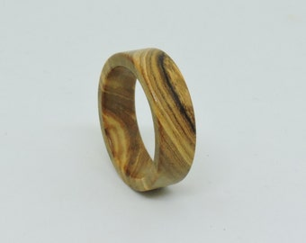 Olive Wood Ring, Wood Ring, Unique Ring,Wedding Ring