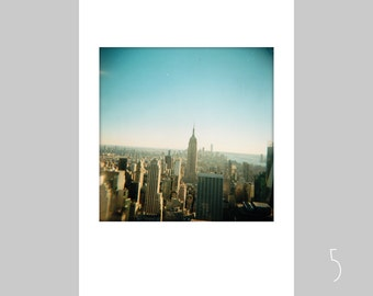 Postcard A6 Polaroid NEW YORK different motifs