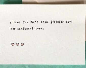 Japanese Cats Love
