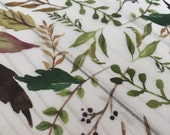 VELLUM // Greenery Printed Vellum