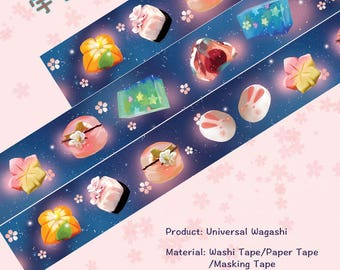 Food Cake Washi Tape Universal Wagashi,scrapbooking stickers,DiY,Paper Decorative masking Tape