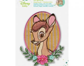 Disney Bambi Iron-On Applique Bambi Portrait