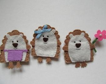 Hedgehog magnet, fridge magnet, hedgehog lovers gift, gift for her, gift for mum, Easter gift, wildlife lovers gift, animal lover gift