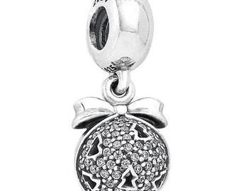 Authentic Pandora 2014 Black Friday Christmas Wish Charm Bead