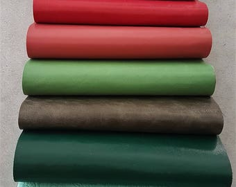 Leather 10 swatches of our fancy stock collections, 22 cm x 27 cm (8,66 x 10,63 inch)