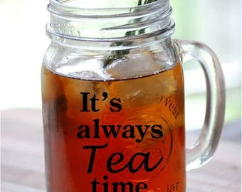 "Décalque ""it's Always Tea Time"