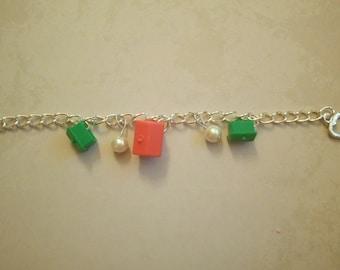 Monopoly charm bracelet