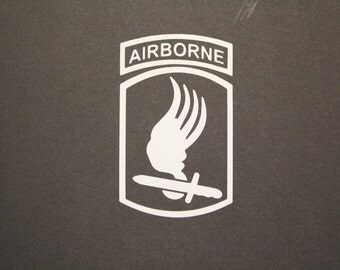 173rd Airborne Brigade Combat Team, Sky Soldiers, Airborne, Decal, Ready to ship