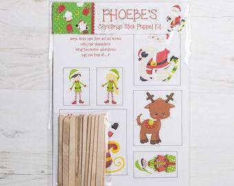 Christmas Stick Puppet Kit