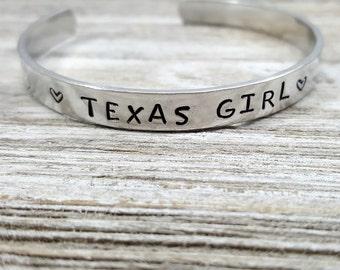 Texas Girl Bracelet
