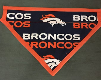 Denver Broncos Dog Scarf