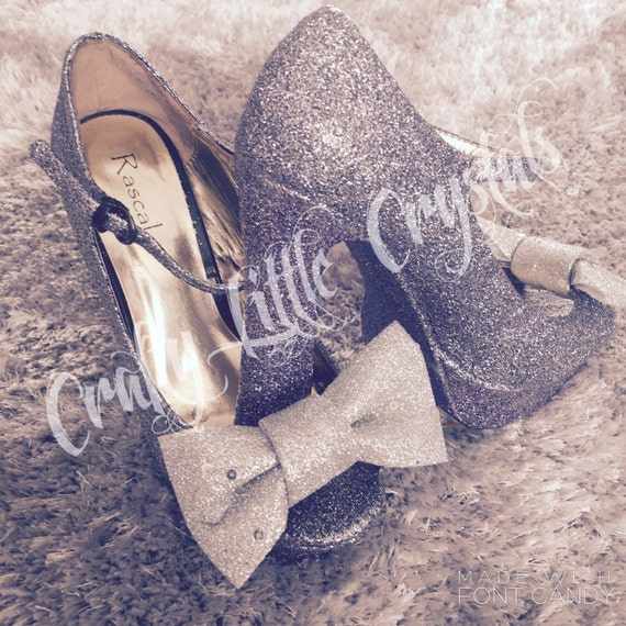 Glitter crystal High Mary Janes Shoes