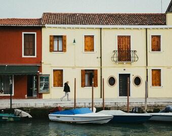 Cityscape-Burano Island @Venice, Italy