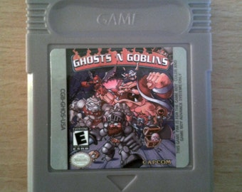 Ghosts N' Goblins For Nintendo Game boy, gbc, gba, gba sp