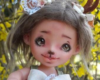 Baby deer ooak