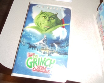 Vhs Dr Seuss how the Grinch stole christmas