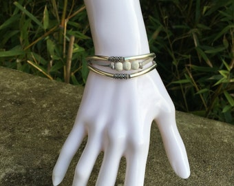 Chic bracelet leather