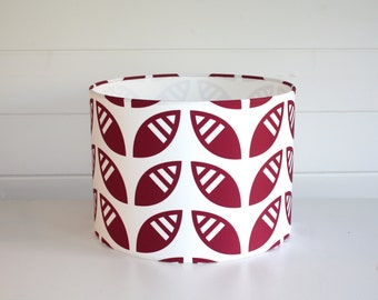 Leafy Lampshade in Wine