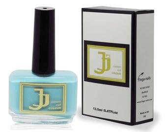 Luxury Nail varnish by JJ - Nail Polish -  Babe Blue nail polish