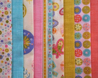 Spring Fabric Bundle by Lind Solovic for Timeless Treasures - Fat Quarter Bundle - 9 pieces