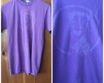 1980s Betty Boop shirt vintage small purple graphic tee
