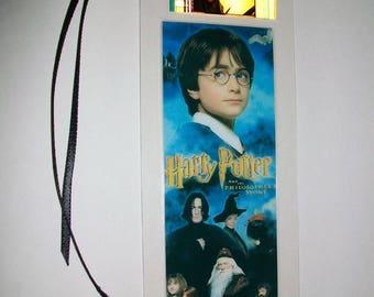 HARRY POTTER 1 (Philosophers Stone) Movie Memorabilia Film Cell Bookmark …