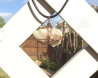 Wired Crystal Pendant