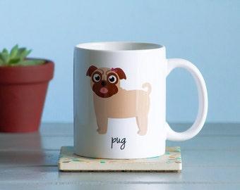 Pug Mug (girl)