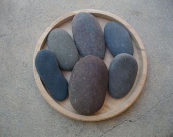 River Stones Oblong Shaped 6 count