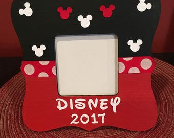 disney picture frame disney vacation frame disney memories minnie mouse frame gift - Disney Photo Frames