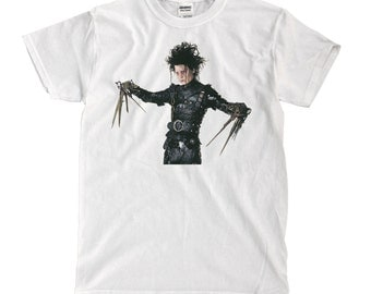 Edward Scissorhands - White T-shirt