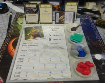 Arkham Horror Game Gear:  Player Dashboard Set of 2