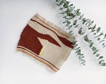 Vintage Handmade Woven Mat