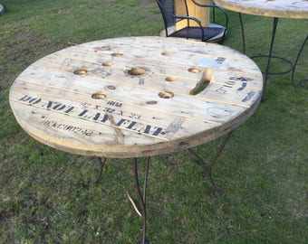 Authentic Wire Spool Table