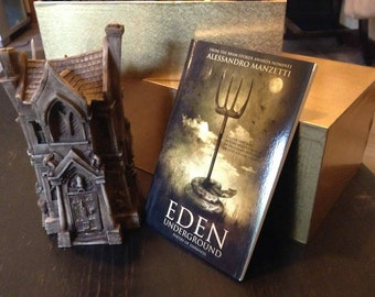 EDEN UNDERGROUND (English Edition) Book signed by the Author