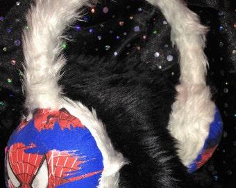 Spider-man ear muffs / ear warmers * *