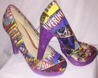 Marvel Avengers Heels* *  * SIZES 3-8