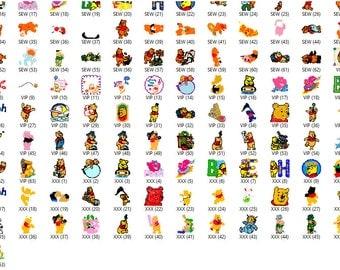 Disney Winnie The Pooh Embroidery Designs