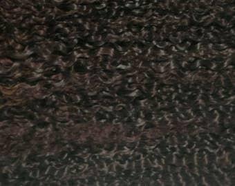 "PREMIUM MOHAIR - Dark Brown 10"", Doll , Reborn, 1/2Oz"